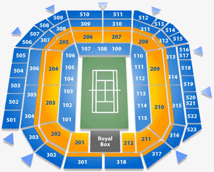 wimbledon seating plan